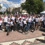 KRAN Charitable Foundation in a bike ride in Brovary